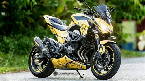 Modification Kawasaki Z800 by Top 30 Kawasaki Z800 Modified