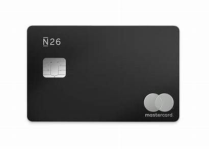 N26 Card Mastercard Debit Credit Cards Metal
