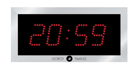 horloge murale affichage digital trancheuse professionnelle