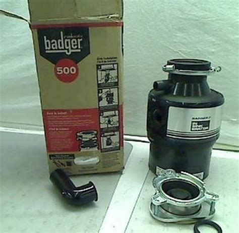 Badger Sink Disposal Not Working by Insinkerator Badger 7 3 4hp Garbage Disposal Tadd Ebay