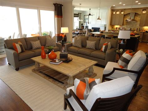 Great Room Furniture Layoutcouch, Love Seat, And Chairs
