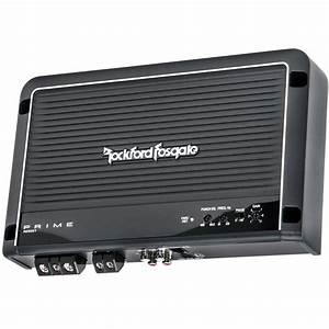 Rockford Fosgate R250x1 250 Watt Single Channel Class Ab  D Car Amplifier