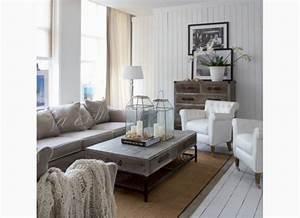 Obývací pokoj ve stylu provence
