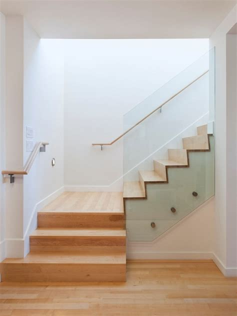 handrails for stairs staircase modern with custom handrail felt area rugs