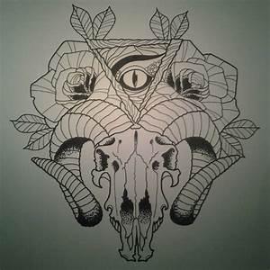 Goat Tattoo Images & Designs