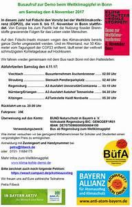 Bonn Verkaufsoffener Sonntag 2017 : demonstration zur weltklimakonferenz 12 uhr bonn m nsterplatz bayern allianz f r ~ Watch28wear.com Haus und Dekorationen