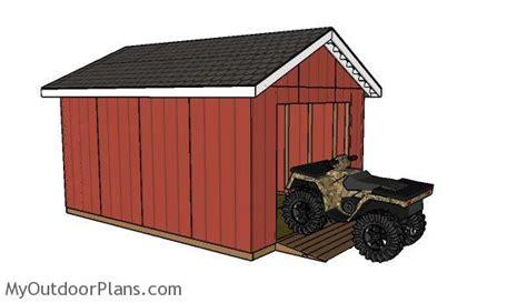 atv shed ramp plans myoutdoorplans  woodworking