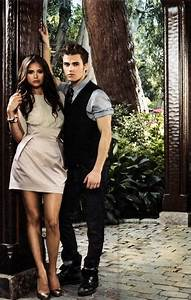 Paul Wesley and Nina Dobrev images Paul and Nina HD ...