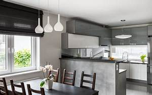 Küche Vorhänge Modern : k che modern k chenzeilen u und l k che vorh nge furnerama ~ Sanjose-hotels-ca.com Haus und Dekorationen