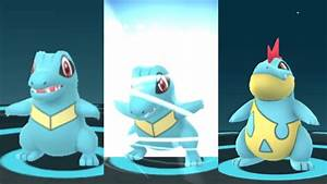 Totodile Croconaw Evolution Poku00e9mon Go Second Generation