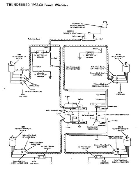 Thunderbird Relay Wiring by Thunderbird Ranch Diagrams Page