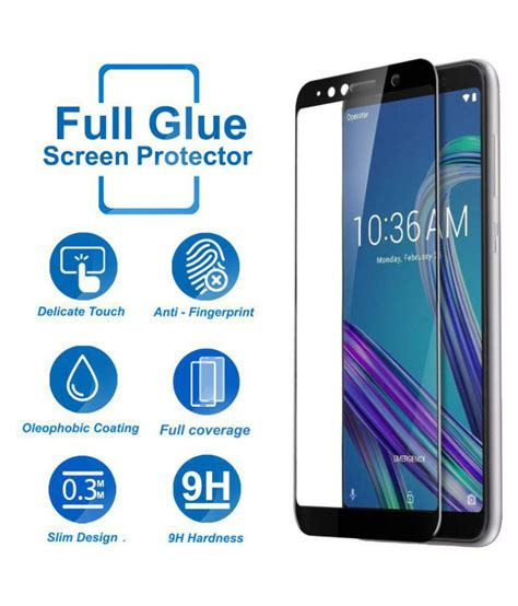 asus zenfone max pro   glass screen guard  knotyy