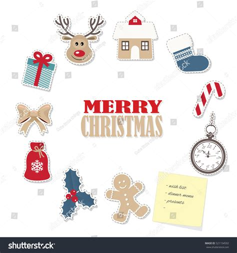 christmas  frame template  paper stock
