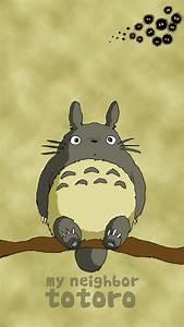 Totoro Phone Wallpaper - WallpaperSafari