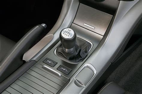 acura adds performance oriented manual transmission model