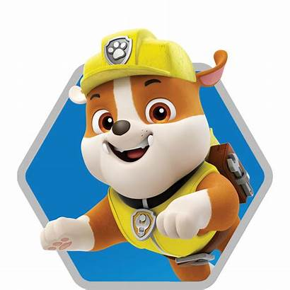 Paw Patrol Rubble Rescue Race Characters Character