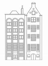 Coloring Buildings Apartments Apartment Building Houses Simple Tall Row Drawing Printable Stylish Colouring Sheets Printcolorfun Bestcoloringpagesforkids Printables sketch template