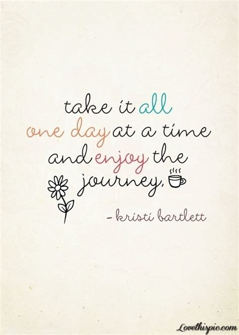 One-day At A Time Quotes