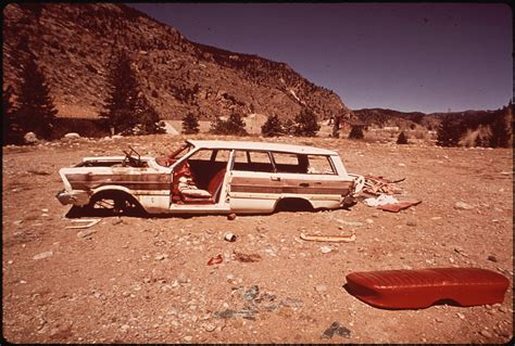 Fileabandoned Car In Clear Creek Canyon, Near Dumont