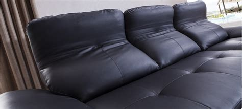 canapé d angle convertible cuir noir canapé d 39 angle convertible en cuir prix imbattables