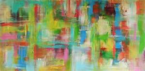 Bilder Abstrakt Modern : moderne abstrakte malerei als leinwandbild von sibylle rettenmaier ~ Sanjose-hotels-ca.com Haus und Dekorationen