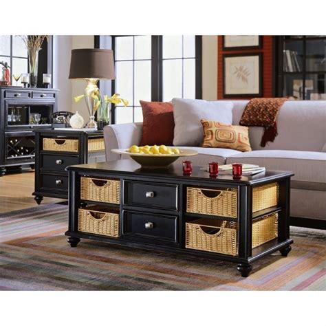 American Drew Camden Black 2 Piece Coffee Table Set  919