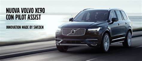 Pilot Assist Volvo Nuovo Volvo Xc90 Con Pilot Assist Autorally