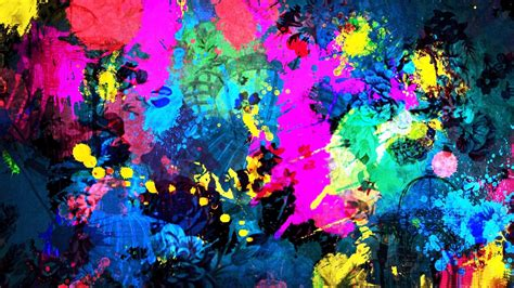 Abstract Wallpaper Colorful Wallpaper Painting by Artistic Abstract Wallpapers High Quality Resolution