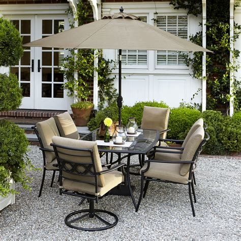 garden oasis 7 pc patio furniture cover modern patio