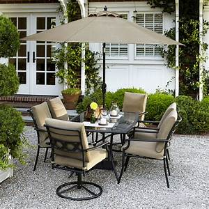 Garden Oasis Rockford 7 Piece Dining Set
