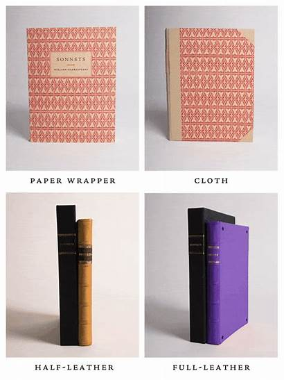 Leather Paper Sonnets Shakespeare Bindings Jeweled Wrapper