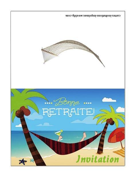 modele carte invitation depart en retraite invitation retraite imprimer gratuite