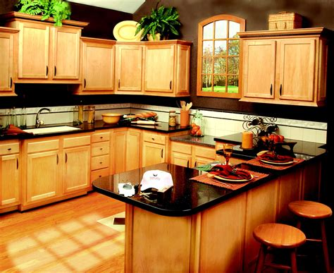 wooden kitchen interior design 5 favorite types of granite countertops for stunning 1639
