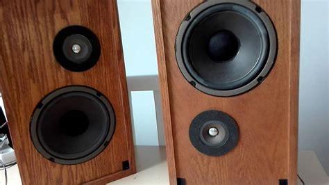 Enceintes altec lansing model one vintage speaker - YouTube