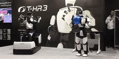 Robot Humanoid Robots Control Remote Toyota Hr3