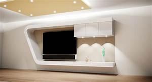 Ideen Tv Wand : tv wand haus dekoration ~ Lizthompson.info Haus und Dekorationen