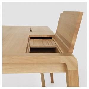 Bureau En Bois Massif : secret bureau design bois massif zeitraum ~ Teatrodelosmanantiales.com Idées de Décoration