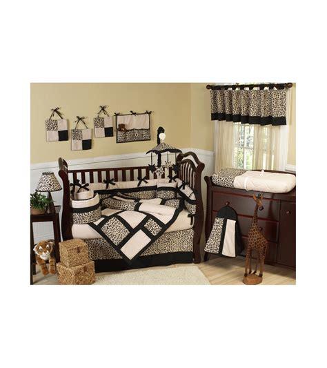 safari crib set sweet jojo designs animal safari 9 crib bedding set