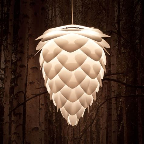 pine cone l shade conia shade white my cabin in the woods pinterest