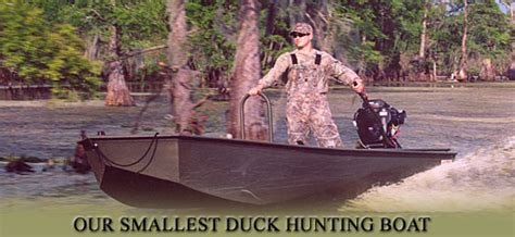 Duck Hunting Deck Boat by 16 X 38 Duck Hunting Boat
