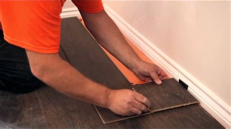 how to put flooring how to lay a laminate floor youtube