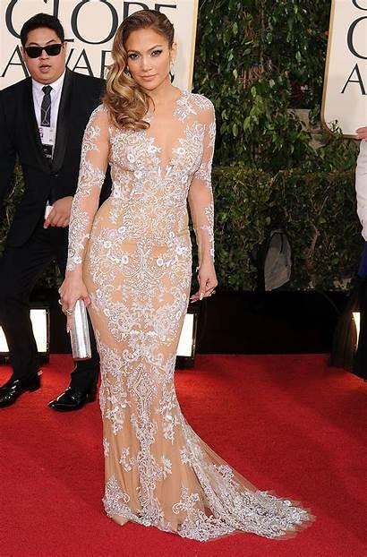 Lopez Jennifer Golden Awards Globe Dresses Carpet