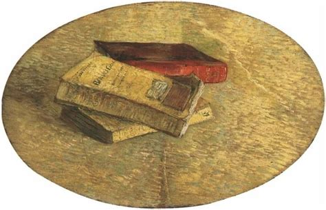 Gogh gogh coffee company is a local coffee shop, dedicated to bringing craft coffee, tasty pastries and paninis to the bcs community! Vincent van Gogh Still Life with Three Books Painting | Van gogh still life, Van gogh museum ...