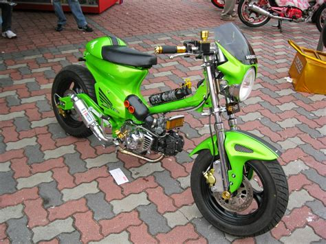 Modifikasi Honda 70 Simple by 100 Gambar Motor Honda C70 Terbaru Dan Terlengkap Gubuk