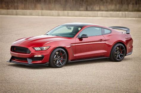Ford Releases Specs For The 2017 Shelby Gt350 Mustang