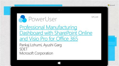 Professional Manufacturing Dashboards With Sharepoint