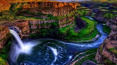 Waterfall Wallpapers Water Rock Fullscreen