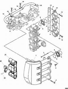 90 Hp 4 Stroke Mercury Outboard Diagram  90  Free Engine