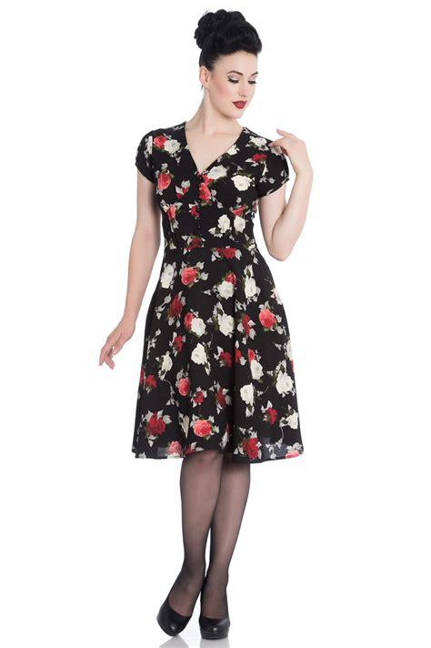Kühlschrank 50er Style by 50er Jahre Flower Petticoat V Neck Kleid Hell