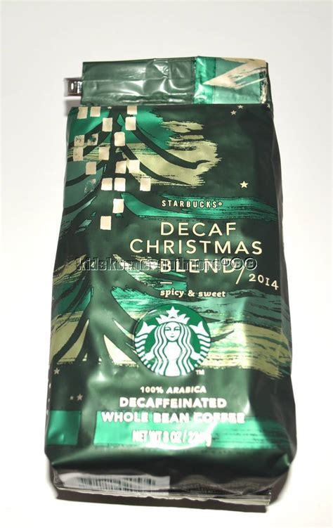 Most of their coffees originate from latin, african or asian countries. Starbucks Christmas Blend Decaf Coffee Beans 100% Arabica 2014 1/2 lb - Coffee Beans